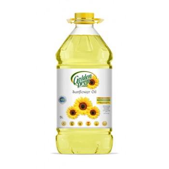 সূর্যমূখী তৈল ৫ লিটার (Golden Drop Sunflower Oil)